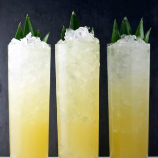SPICED PINEAPPLE SWIZZLE
