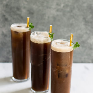 Easy Guinness Cocktail perfect for St. Patty's!