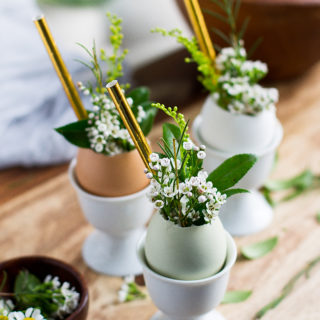 Egg Cup | Easter Decor | Floral Arrangement | Egg Shooters