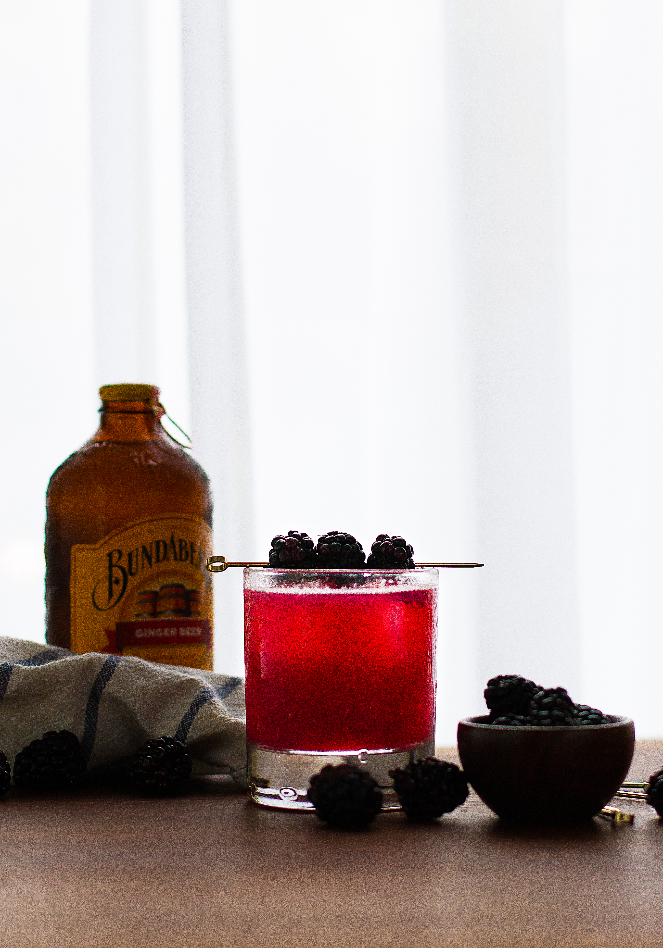 Cinco de Mayo Cocktail | tequila recipe | blackberry | sage | ginger beer